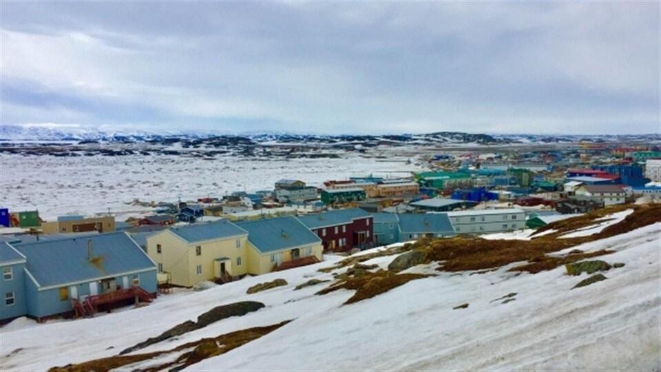 Iqaluit, la capitale du Nunavut.