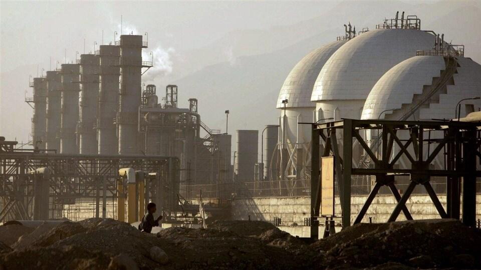 La raffinerie de Assalouyeh, en Iran