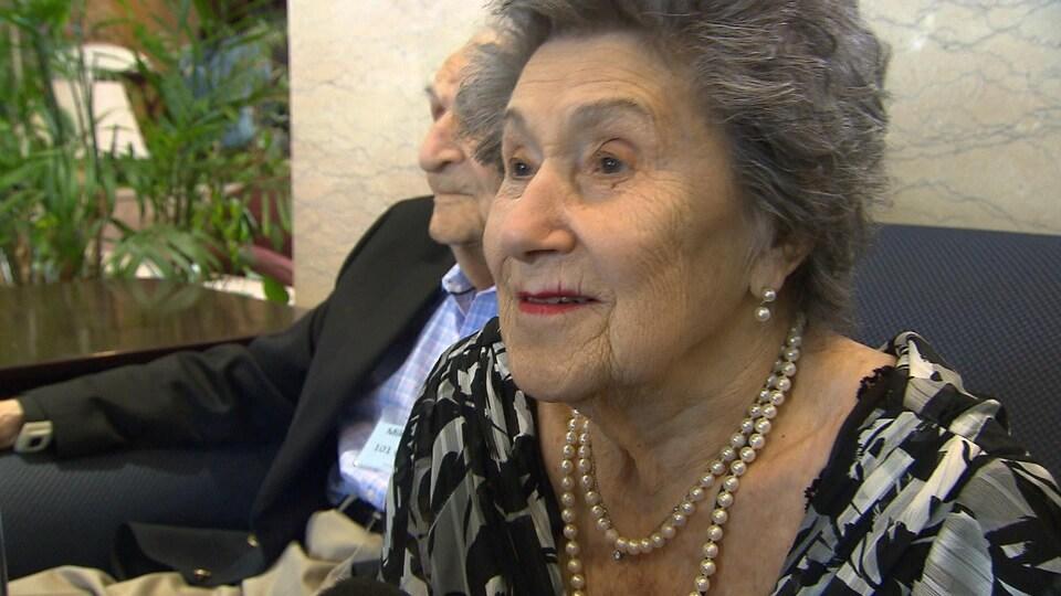 Irène Klein, une centenaire
