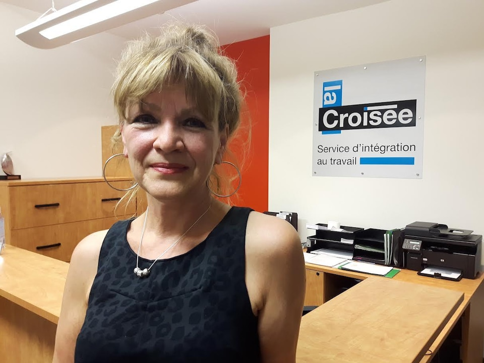 Isabelle Senneville, directrice générale de La Croisée