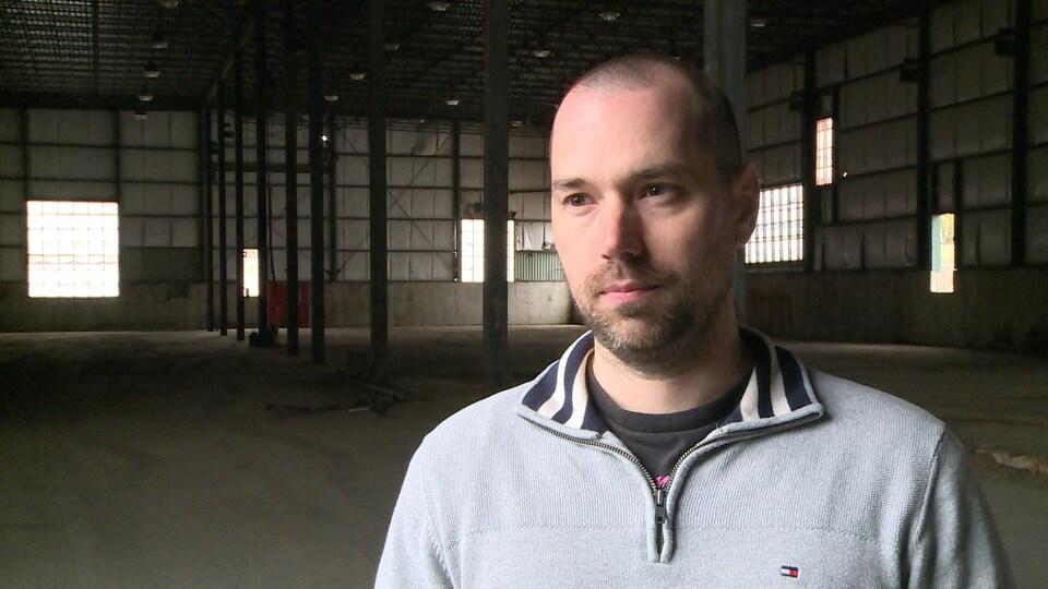 Jason Lagacé veut mettre en place une mine de cryptomonnaie dans l'ancienne scierie Krueger à Ragueneau