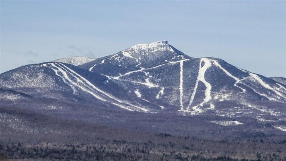 La station de ski de Jay Peak, dans l'État du Vermont.