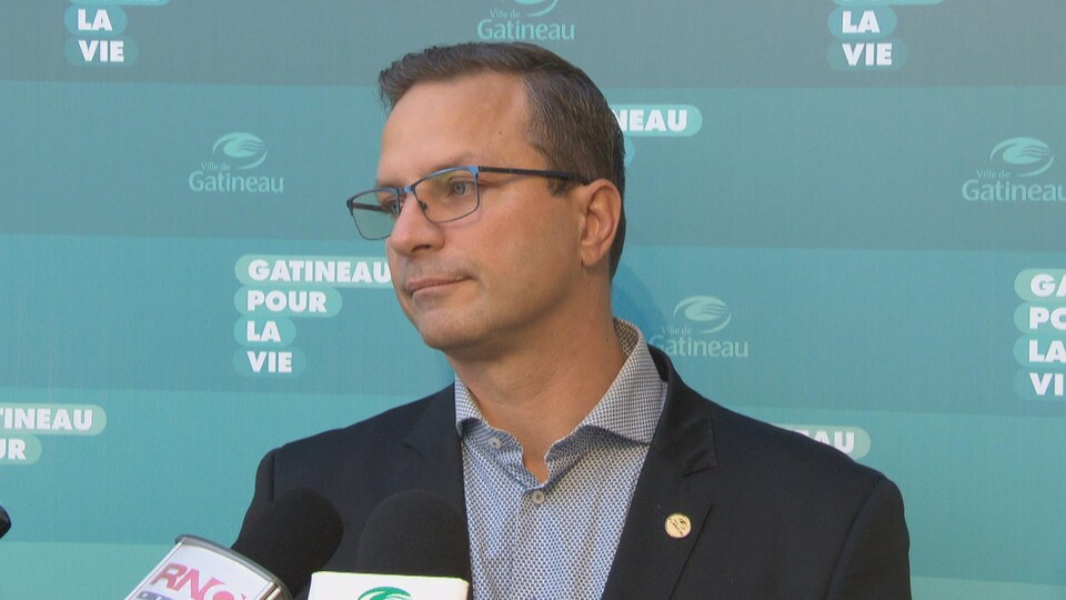 Jean-François LeBlanc en entrevue à Radio-Canada.