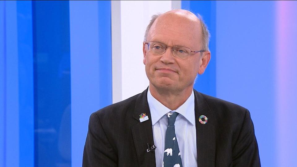 Jean-Pascal van Ypersele, professeur de climatologie à l'Université catholique de Louvain et ancien vice-président du GIEC.