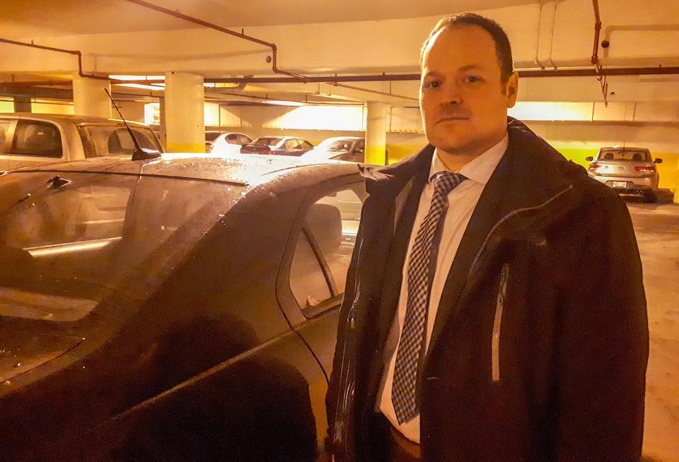 Jimmy Lapointe, sergent-détective et agent évaluateur au Service de police de la Ville de Québec