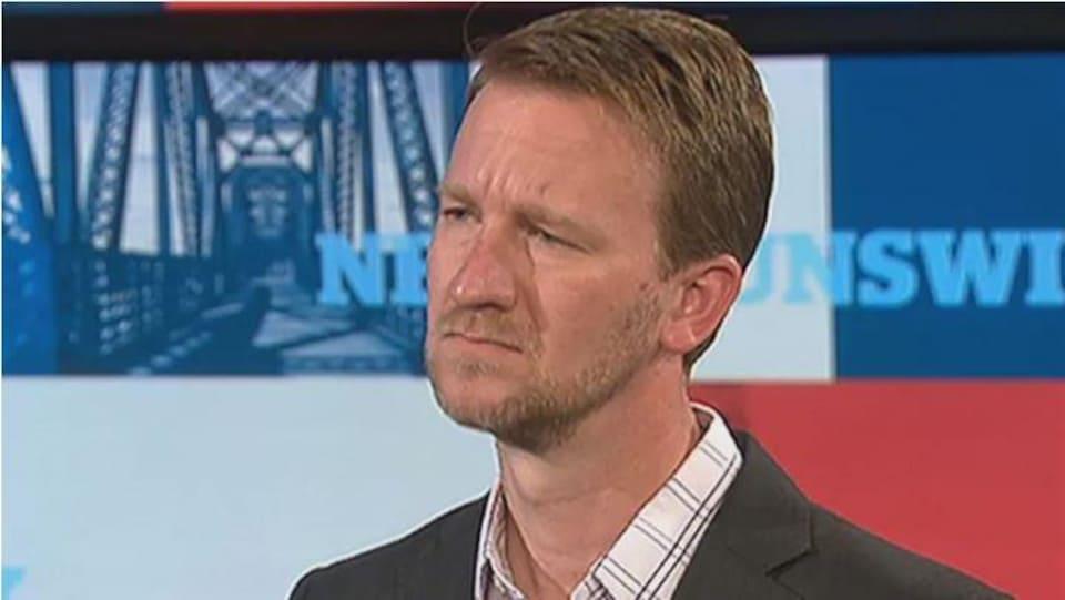 Portrait de Joel Richardson en entrevue à CBC News.