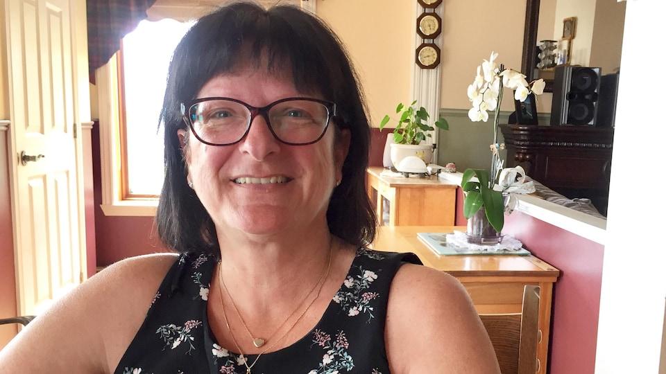Johanne Hébert n'aurait pas pu espérer une fin de vie plus paisible pour sa fille, Karine Duval, qui a été la première patiente à la Maison Aline-Chrétien, à Shawinigan.