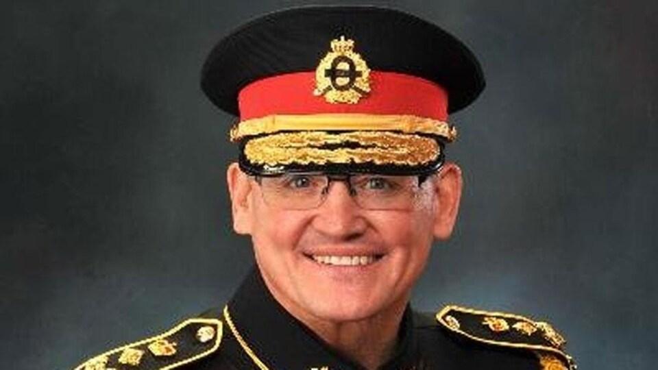 John Bates, le chef de police de Saint-Jean, au N.-B.