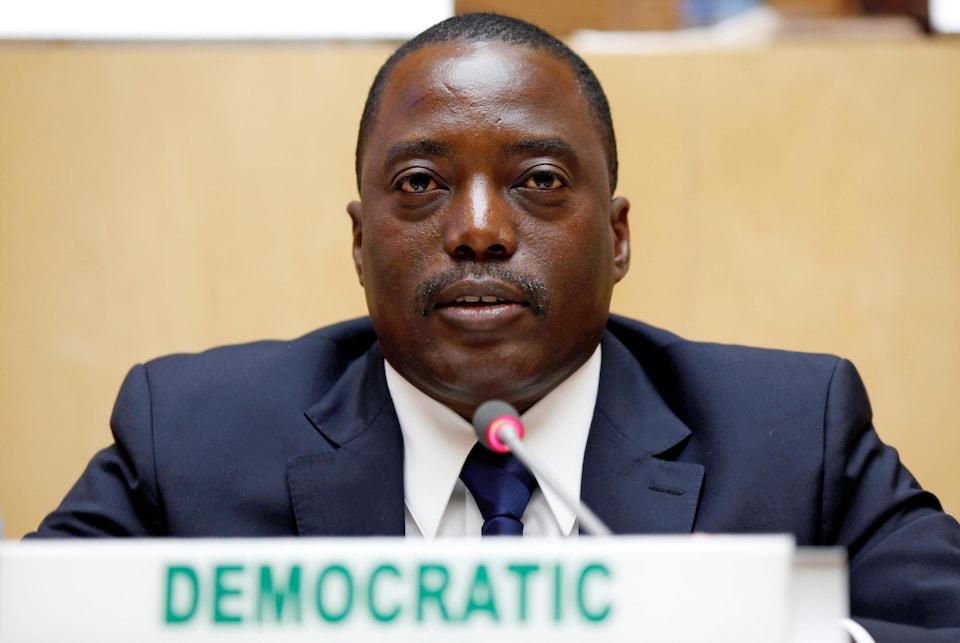 Joseph Kabila en février 2013