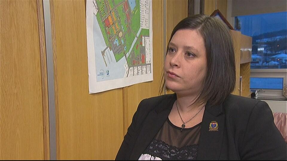 Julie Morin, mairesse de Lac-Mégantic