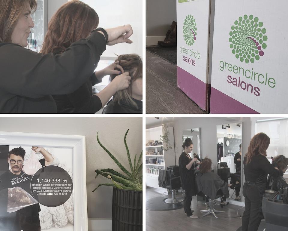 Karma studio de coiffure est désigné salon écologique depuis 2013.