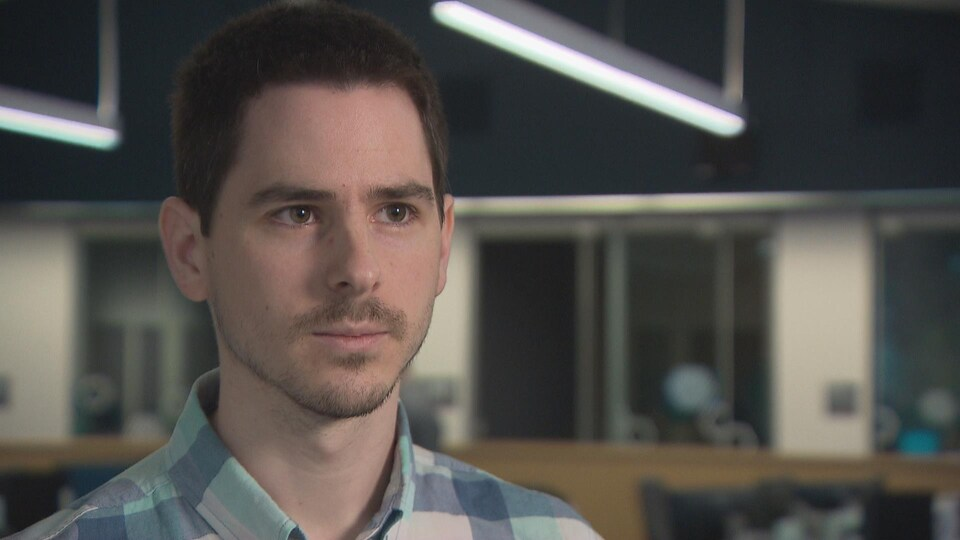 Kevin Mazerolle, enseignant spécialisé et propriétaire de Maz Tutorat, à Dieppe au Nouveau-Brunswick.