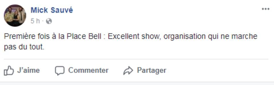 Propos recueillis sur la page Facebook de l'événement