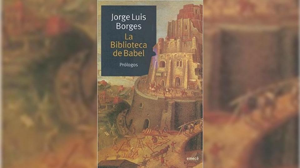 Couverture du livre en version originale espagnole : «La Biblioteca de Babel»