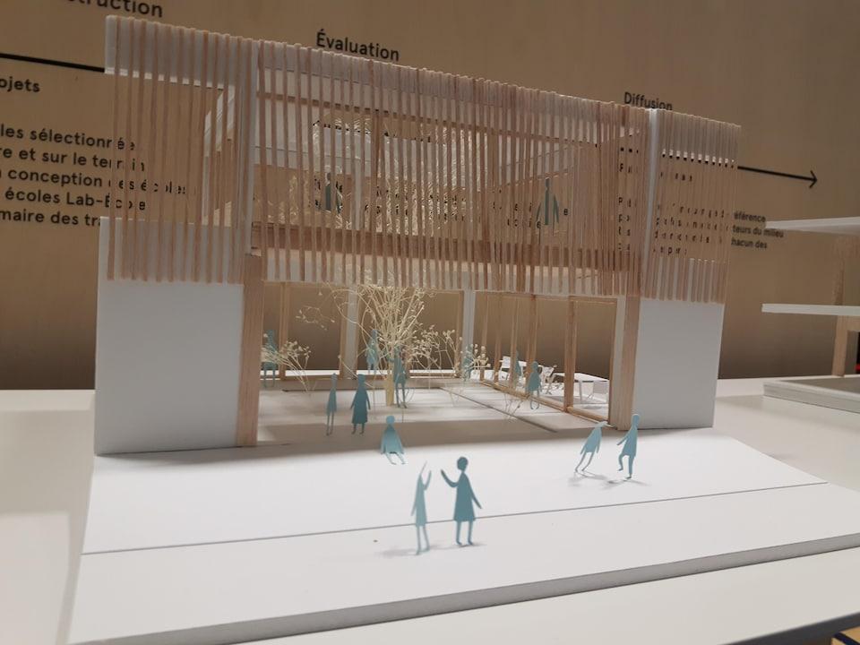 Maquette d'un projet de Lab-École