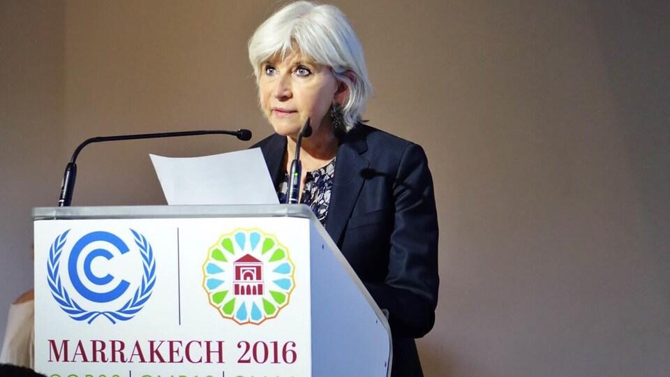 L'économiste Laurence Tubiana, l'ambassadrice française des négociations sur climat