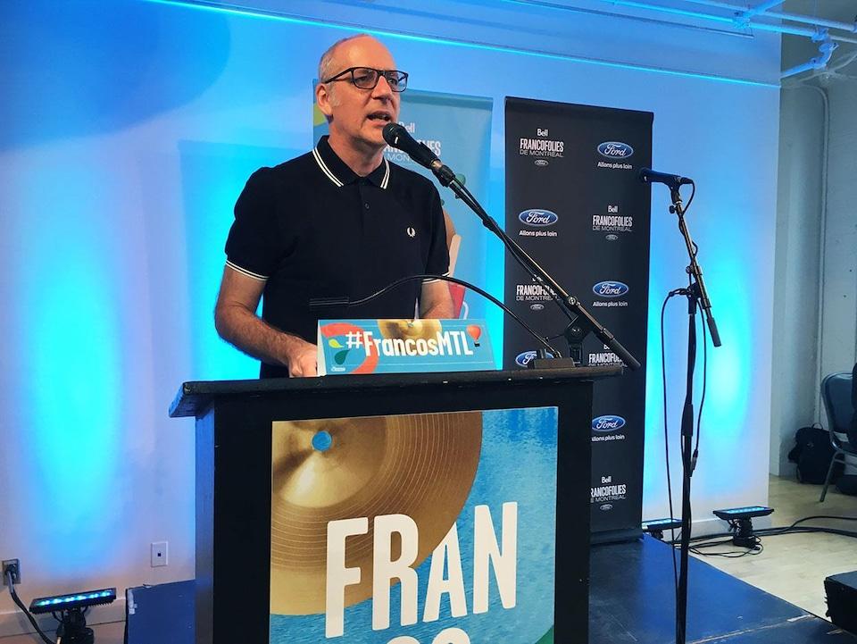 Laurent Saulnier, directeur de la programmation des FrancoFolies de Montréal