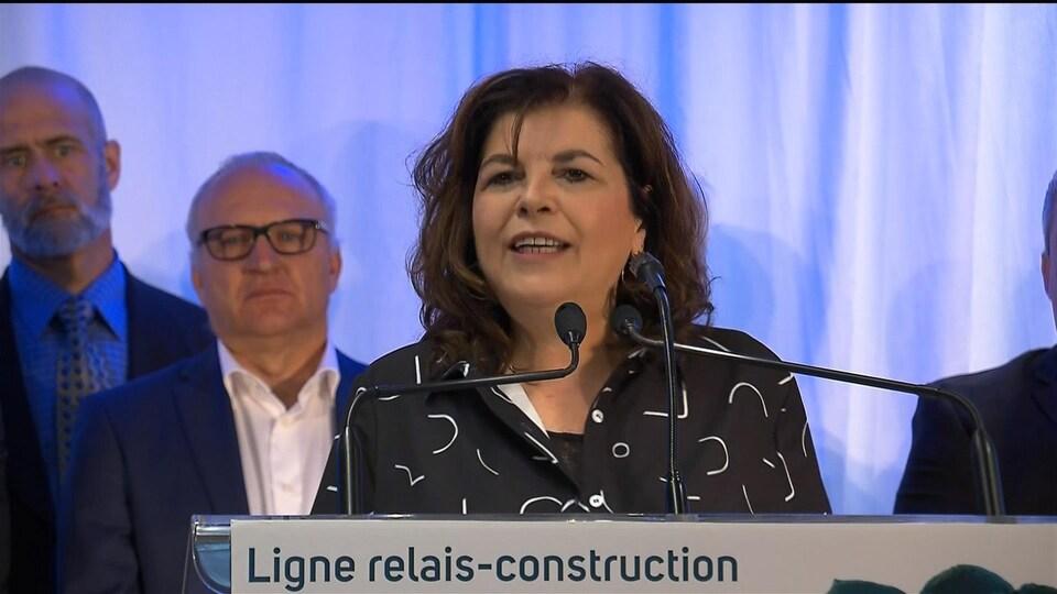 Diane Lemieux, présidente-directrice générale de la Commission de la construction du Québec