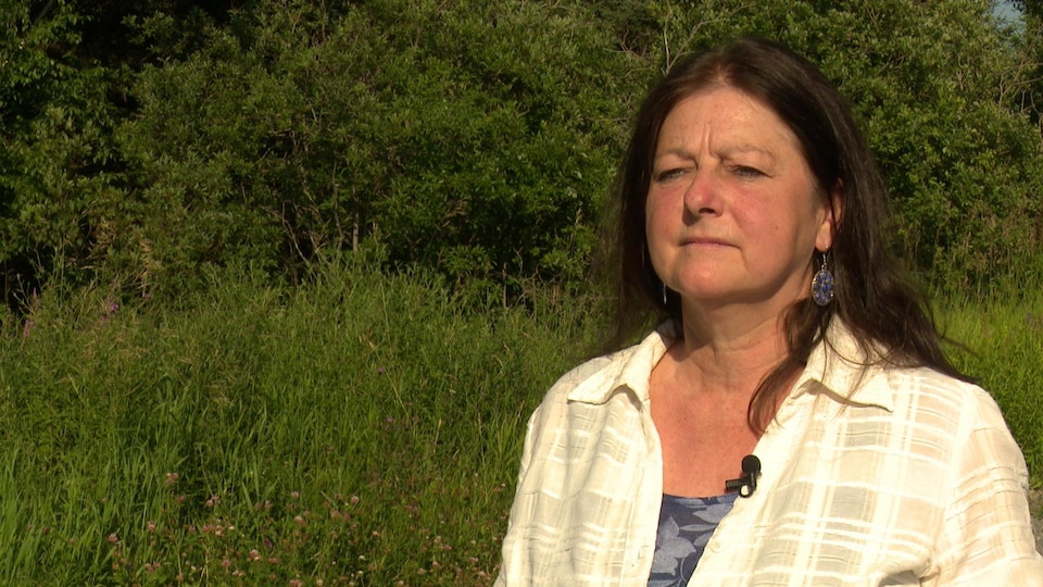 Lise Chartrand, présidente d'Ensemble pour l'avenir durable du Grand Gaspé