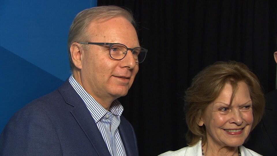 Jean-François Lisée et Lisette Lapointe, vendredi avant-midi