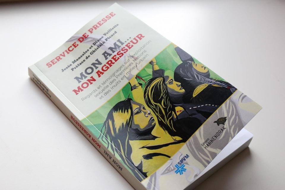 Le livre Mon ami... mon agresseur de Josée Mensales et Diane Veillette (édition non corrigée).