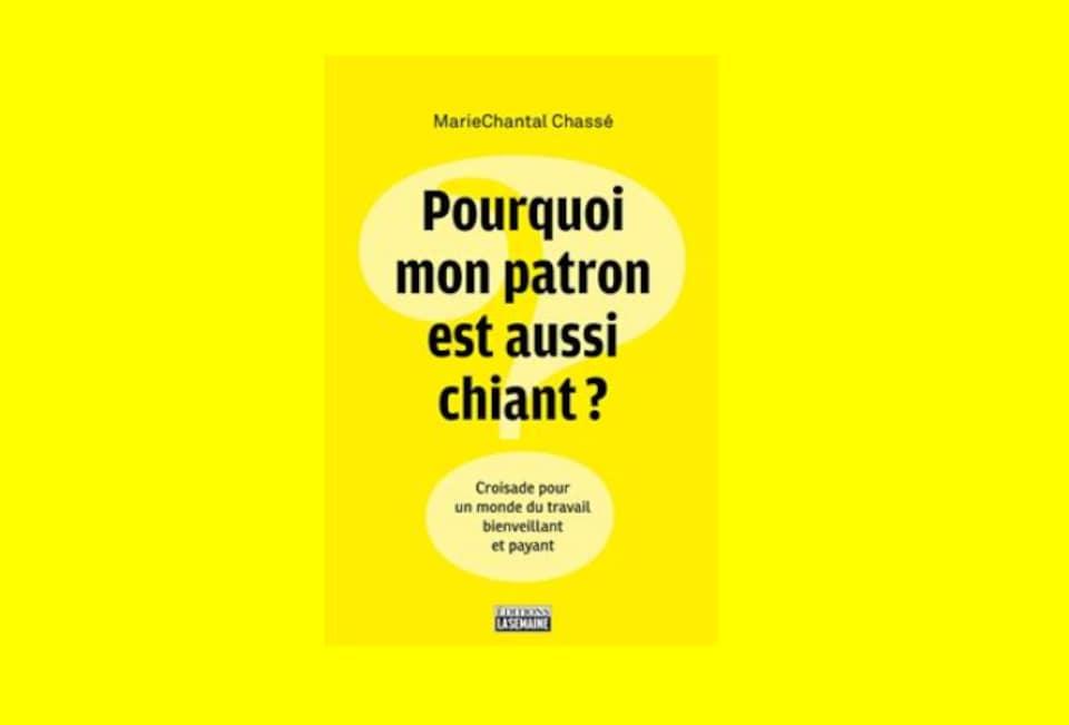 Couverture du livre de MarieChantal Chassé, paru le 3 octobre 2018.