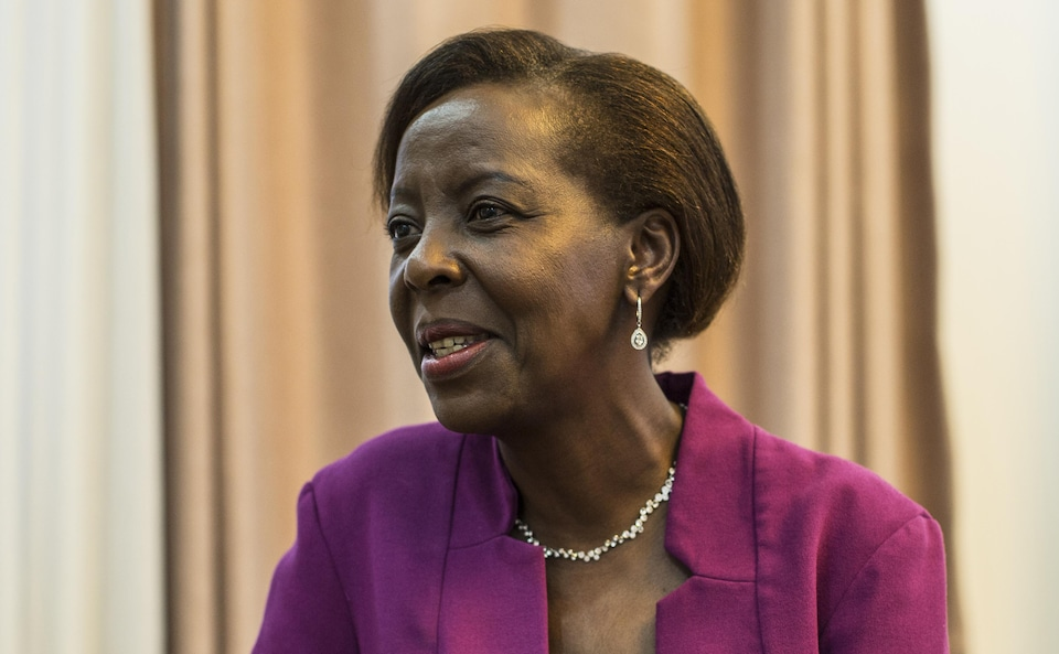 La Rwandaise Louise Mushikiwabo est pressentie comme prochaine secrétaire générale de l'Organisation internationale de la Francophonie.