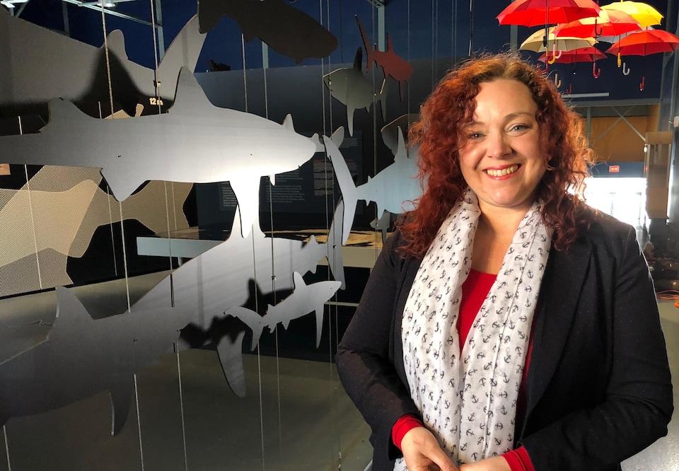 Lyne Morissette, chercheuse en écologie marine pour M - Expertise marine à Sainte-Luce.