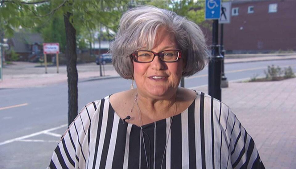 Madeleine Dubé le 9 juin 2018.