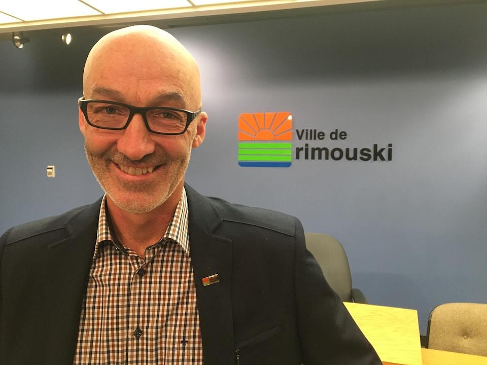 Le nouveau maire de Rimouski, Marc Parent, veut suivre les orientations de son prédécesseur.