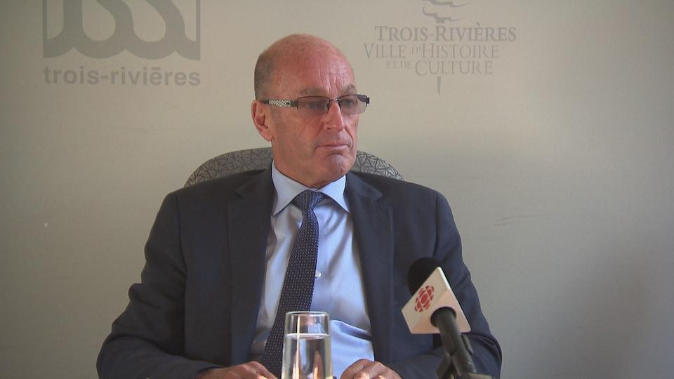 Le maire de Trois-Rivères, Yves LévesqueYves Lévesque