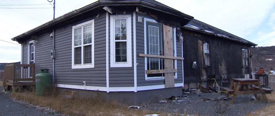 La maison où habitait la famille Butt à Carbonear à Terre-Neuve-et-Labrador