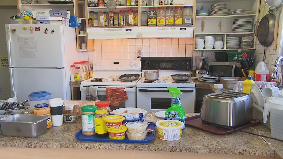 La cuisine de la maison des sans-abris