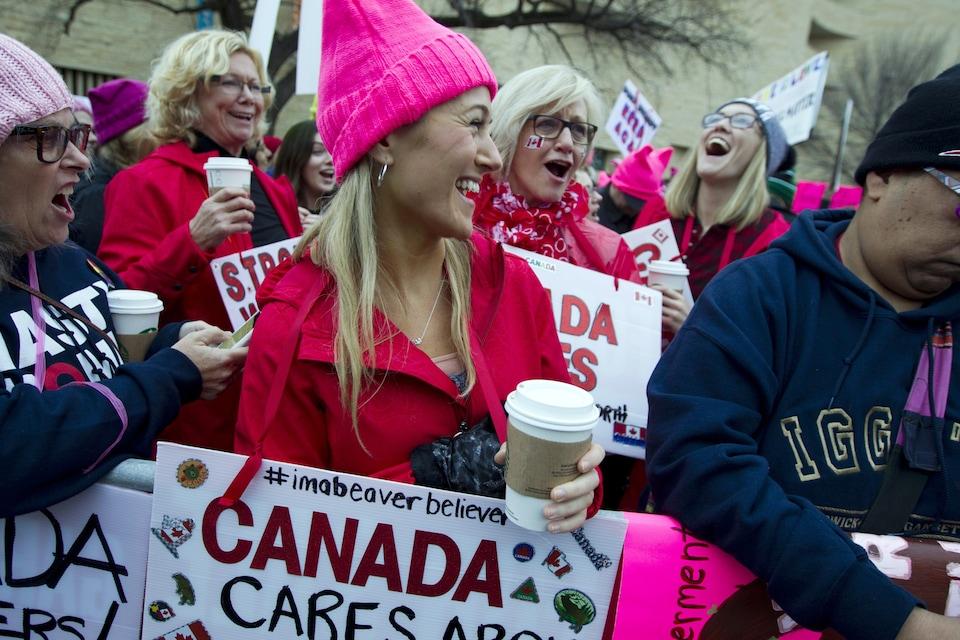 Des centaines de Canadiennes prendront part à la manifestation de Washington.