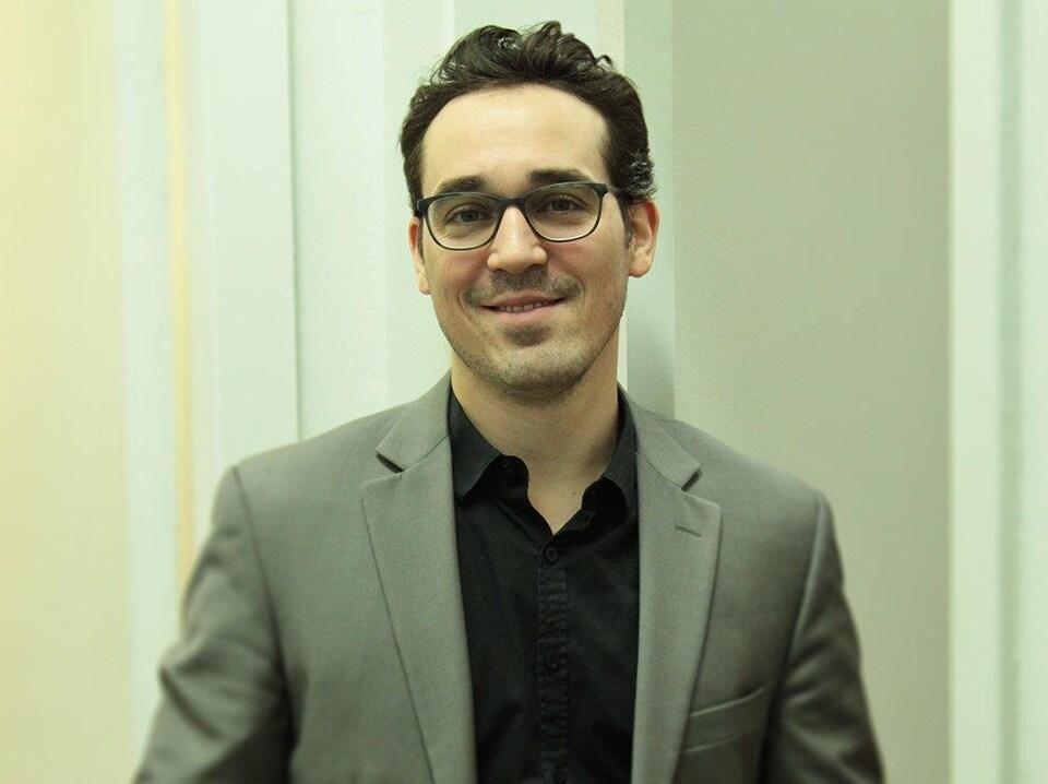 Marc-André Viau, directeur des communications de Valérie Plante