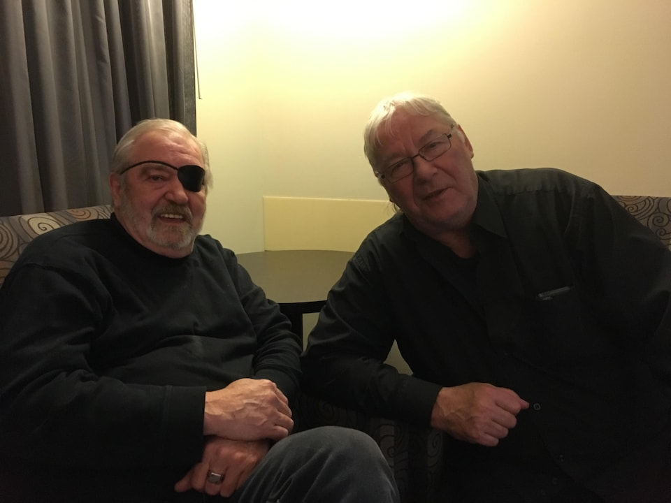 Marc Hamilton et son complice Gerry Bribosia