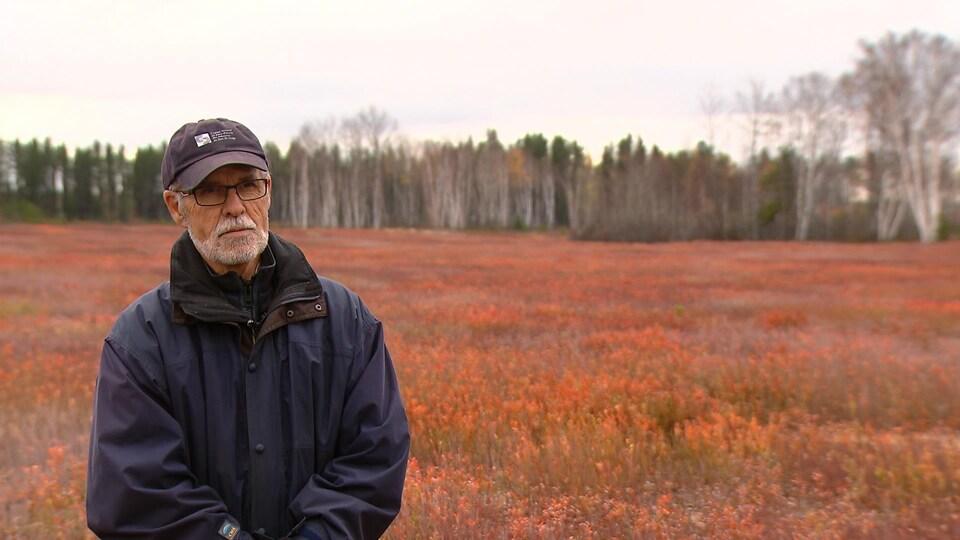 Marc Larouche, ancien président du syndicat des producteurs de bleuets du Québec
