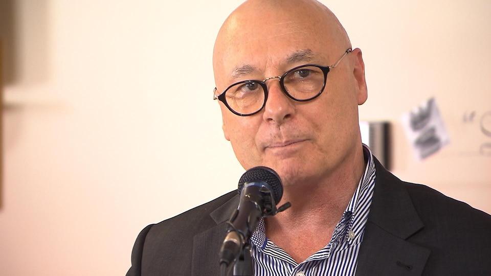 Le président-directeur général du CISSS de la Côte-Nord, Marc Fortin.
