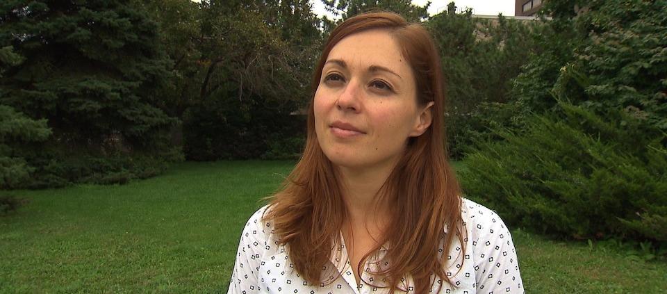 Mariane Labrecque,  co-coordonnatrice de la Fédération québécoise pour le planning des naissances