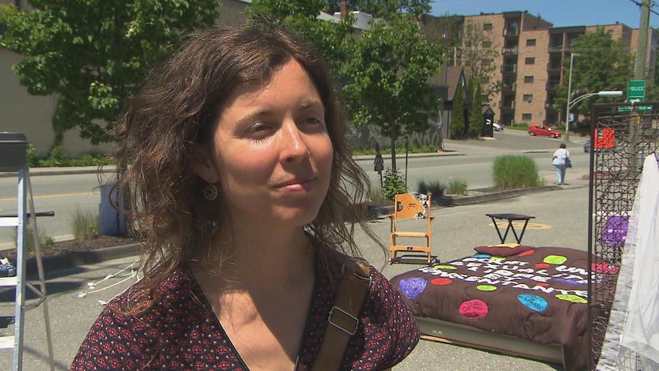Marie-Ève Rheault, agente de développement à ConcertAction Femmes Estrie