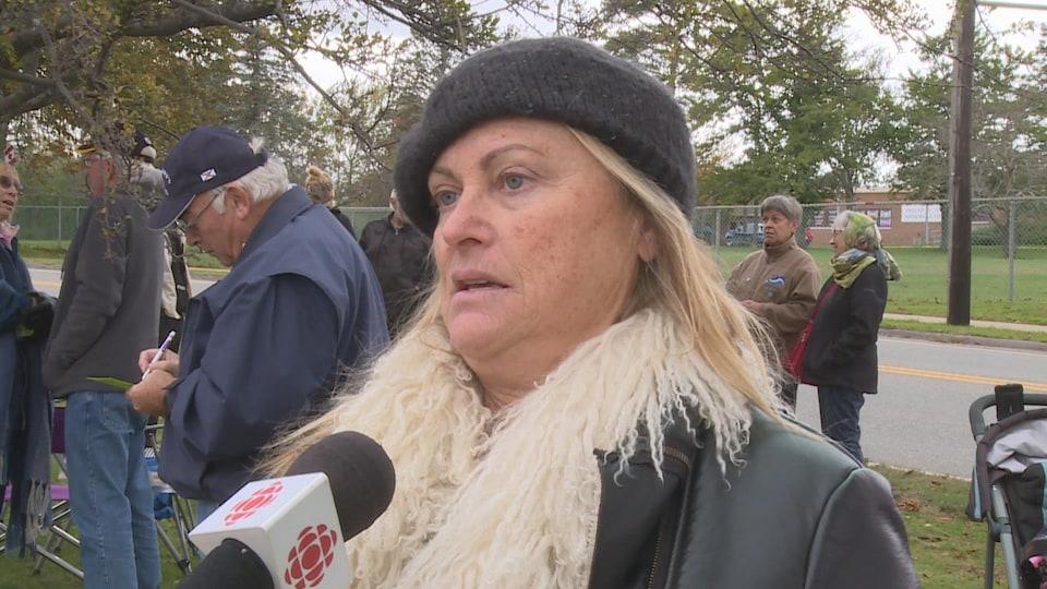 Marie-Laure Hansson, résidente du comté de Digby.
