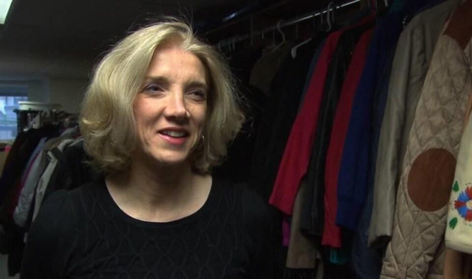 Marina Boulos-Winton, directrice générale du refuge Chez Doris à Montréal.