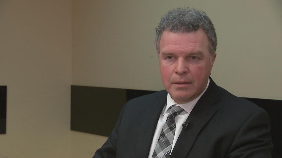 Mario Vézina, inspecteur au Service de police de la Ville de Québec