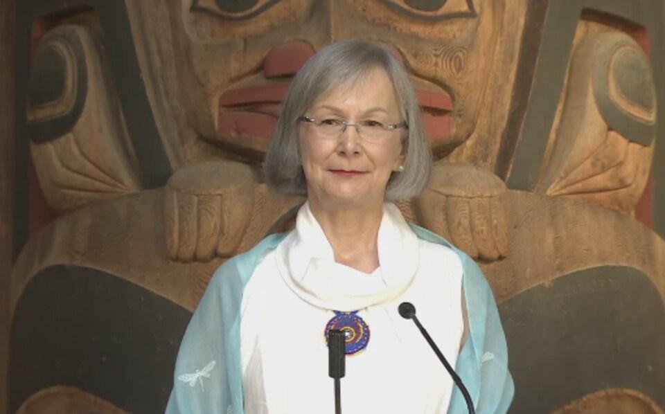 La Commissaire en chef de l'Enquête nationale sur les femmes autochtones disparues ou assassinées, Marion Buller