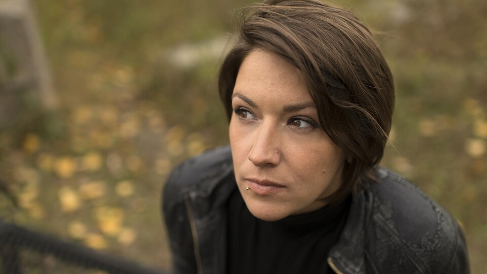 La poète Marjolaine Beauchamp