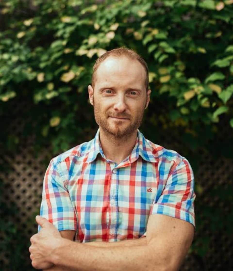 Le fondateur de l'entreprise Néo-Terra et formateur, Martin Boisvert