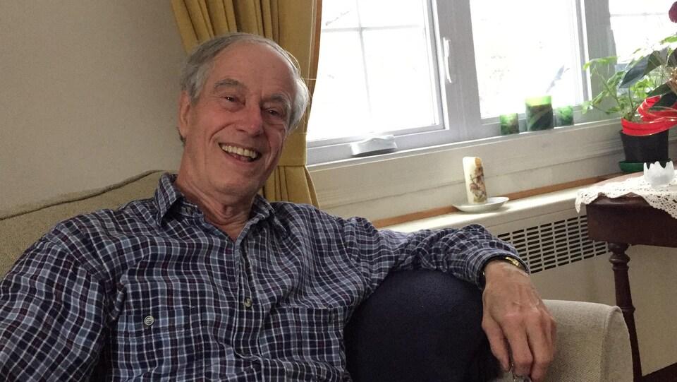 Martin Hensen, secrétaire du Club Lions de Deux-Montagnes