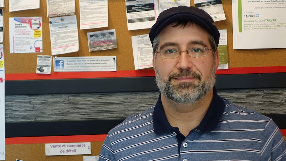 Martin Poirier, cofondateur de Non à une marée noire dans le Saint-Laurent