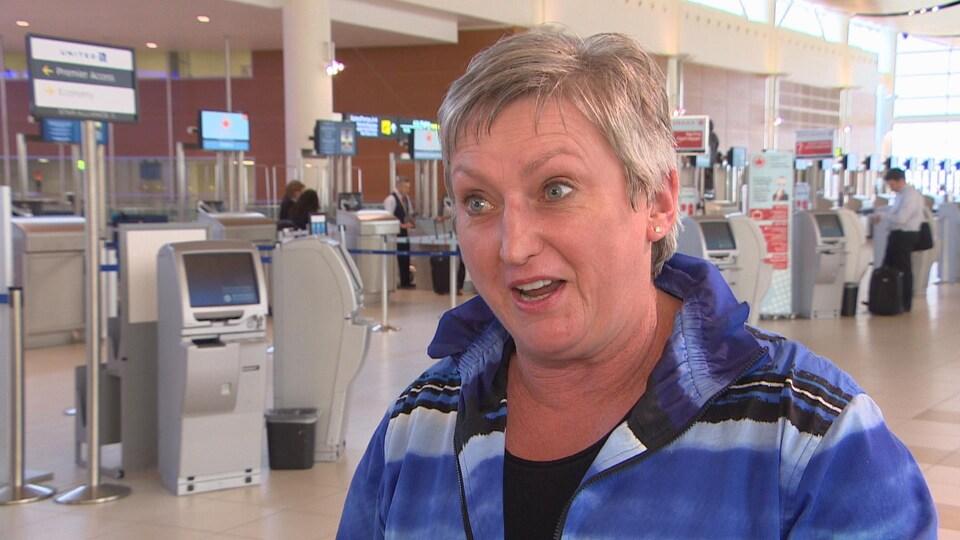 Mary Jane Hiebert, présidente de l'Association canadienne des agences de voyage