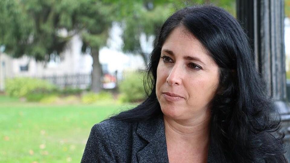Mélanie Gagnon, professeure en science de la gestion à l'Université du Québec à Rimouski (UQAR)